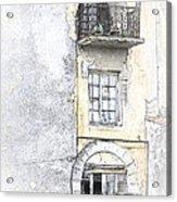 The Balcony Scene II Acrylic Print
