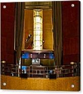 The Balcony Acrylic Print