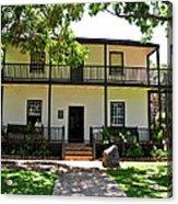 The Baldwin House In Lahaina I Acrylic Print