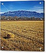 The Bale - Sandia Mountains - Albuquerque Acrylic Print