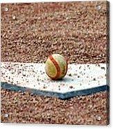 The Ball Of Field Of Dreams Acrylic Print by Susanne Van Hulst