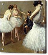 The Ballet Lesson Acrylic Print