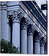The Bank Of California Acrylic Print