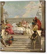 The Banquet Of Cleopatra Acrylic Print