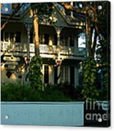The Banyan House Resort In Key West Acrylic Print