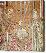 The Baptism Of St. Paul By Ananias, From Scenes From The Life Of St. Paul Mosaic Acrylic Print