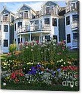 The Bar Harbor Inn - Maine Acrylic Print