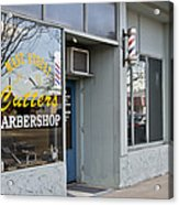 The Barber Shop 3 Acrylic Print