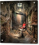 The Barber's Chair -the Demon Barber Acrylic Print