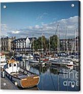 The Barbican Plymouth Devon Acrylic Print by Donald Davis