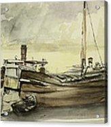 The Barge Acrylic Print