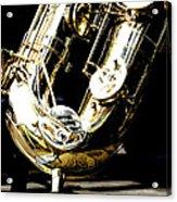 The Baritone Saxophone  Acrylic Print