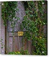 The Barn Door Acrylic Print