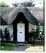 The Barn House Door Nether Wallop Acrylic Print