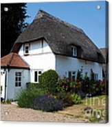 The Barn House Nether Wallop Acrylic Print