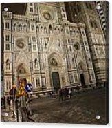 The Basilica Di Santa Maria Del Fiore  Acrylic Print