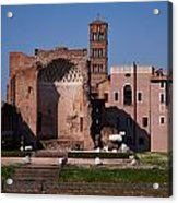 The Basilica Of Constantine Acrylic Print