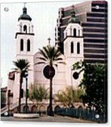 The Basilica Of St. Mary Acrylic Print