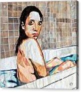 The Bath Acrylic Print
