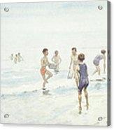 The Bathers Acrylic Print by Edward van Goethem