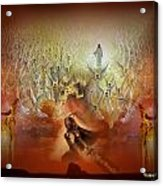 The Battle Is His Acrylic Print