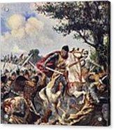The Battle Of Bouvines, 1214 Acrylic Print