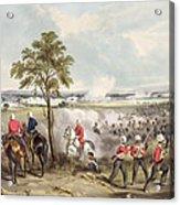 The Battle Of Goojerat On 21st February Acrylic Print
