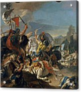 The Battle Of Vercellae Acrylic Print