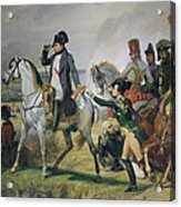 The Battle Of Wagram, 6th July 1809, 1836 Oil On Canvas Acrylic Print