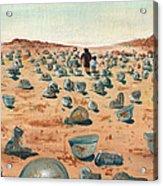 The Battlefield Acrylic Print by Jera Sky