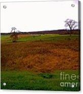 The Battlefield Of Gettysburg Acrylic Print
