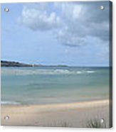 The Bay At Hayle Acrylic Print