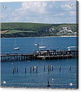 The Bay At Swanage Acrylic Print