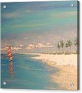 The Bay Acrylic Print by The Beach  Dreamer