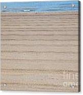 The Beach At Sutton On Sea Acrylic Print