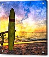 The Beach Boys Acrylic Print