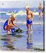 The Beach Pail Acrylic Print