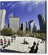 The Bean In Chicago-002 Acrylic Print