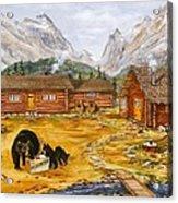 The Bear's Picnic Acrylic Print
