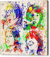 The Beatles 5 Acrylic Print