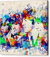 The Beatles 7 Acrylic Print