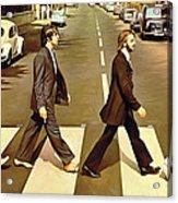 The Beatles Abbey Road Artwork Acrylic Print