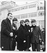 The Beatles arrive in Ireland 1963 Acrylic Print