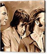The Beatles Artwork 4 Acrylic Print