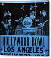 The Beatles Live At The Hollywood Bowl Acrylic Print