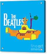 The Beatles No.11 Acrylic Print by Caio Caldas
