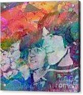 The Beatles Original Painting Print Acrylic Print