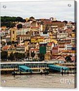 The Beautiful Colors Of Lisbon Acrylic Print