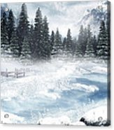 The Beautiful Gothic Winter Acrylic Print by Boon Mee