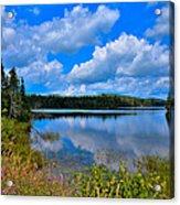 The Beautiful Lake Abanakee New York Acrylic Print